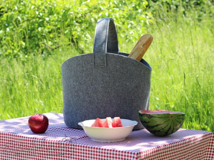 Picknicktasche filz