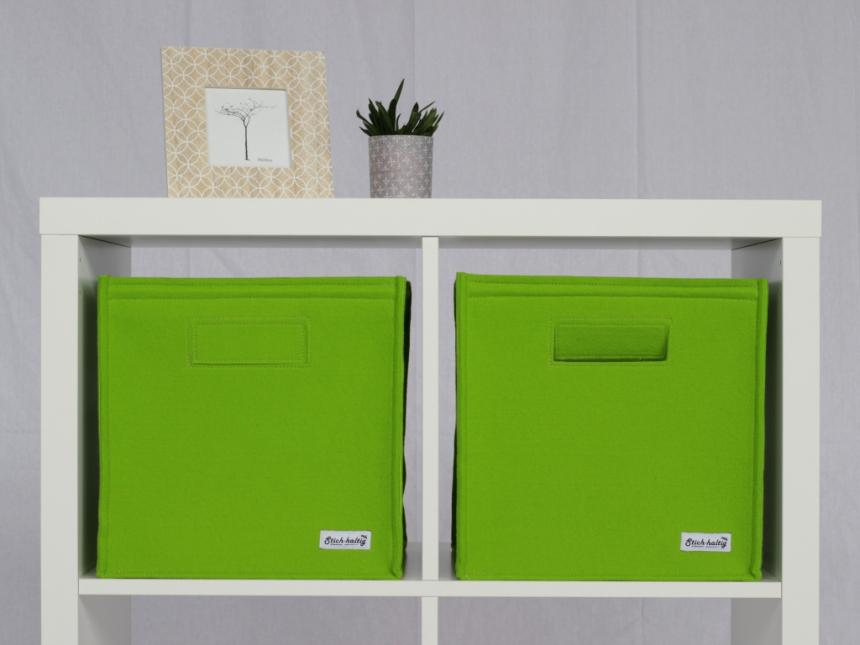 Filzbox Ragalkorb grün