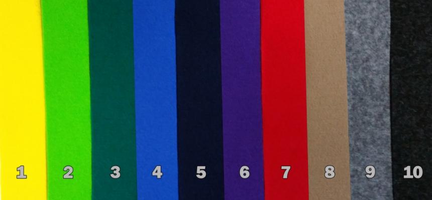 Farben der Kaminkörbe