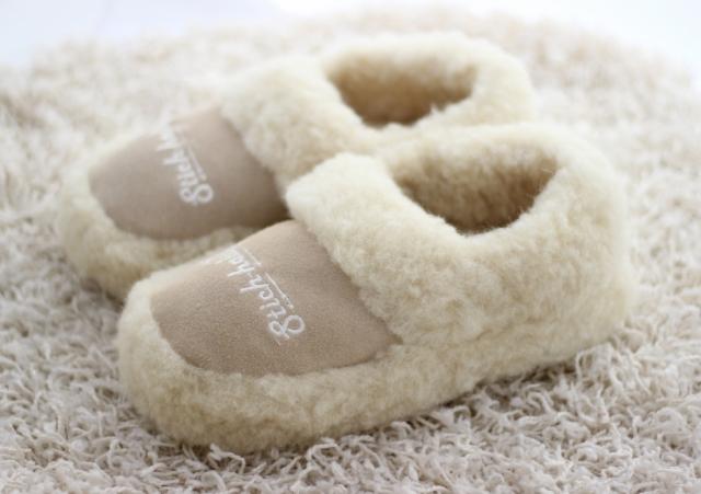 Hausschuhe Schafswolle