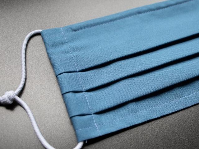Blaue Maske Baumwolle