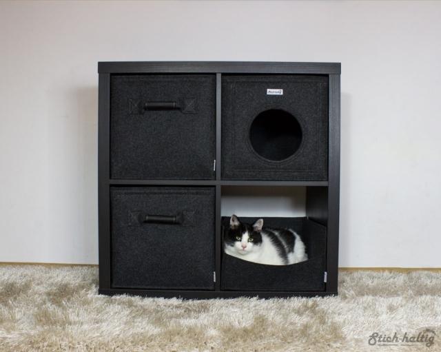 Katzenbett für Ikea Kallax