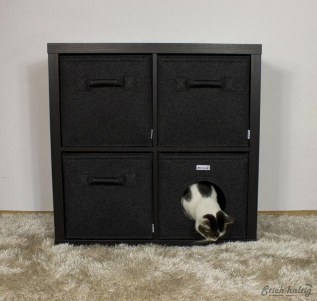 Katzenhöhle Regalkörbe Kallax