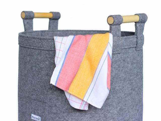 Filzkorb für Wäsche