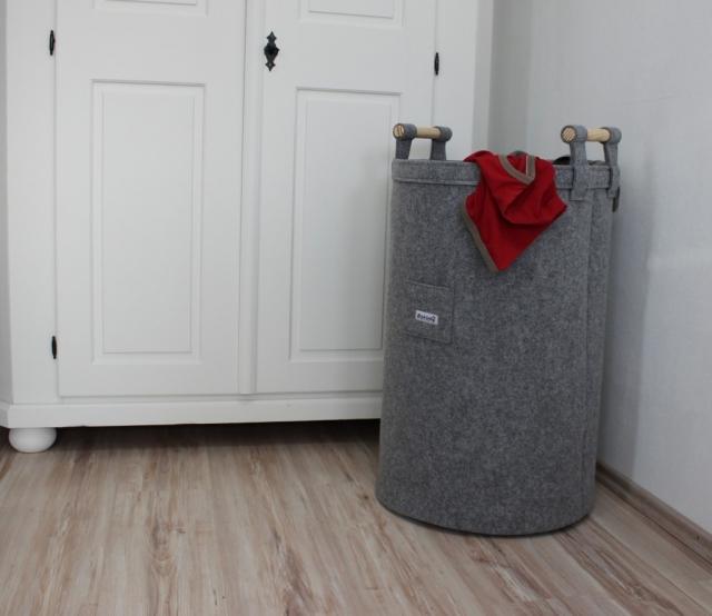 Filzkorb für Schmutzwäsche