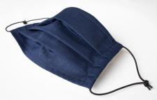 Behelfs-Mund-Nasen-Maske - community maske - dunkelblau