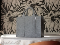 Handtasche aus Filz