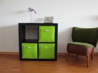 Regalkorb aus Filz grün