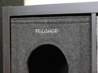 Katzenhöhle aus Filz hellgrau passend Expedit & Kallax