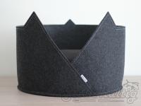 Katzenbett aus Filz mit Ohren