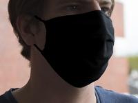 Maske Baumwolle schwarz männer