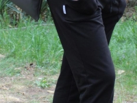 Gemütliche Sporthose Damen Basic-Look