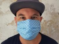 Behelfs-Mund-Nasen-Maske - community maske - sterne