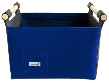 Filzkorb Regalkorb Filzbox Filzkorb Filz Körbchen Blau Rot Grün Lila Minimal